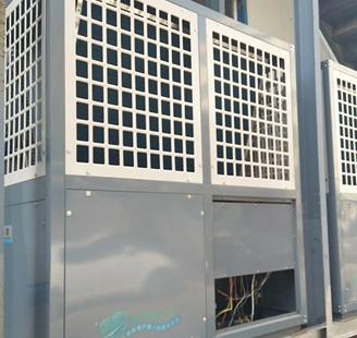 山东省蓬莱快捷酒店2台15P低温机器末端带暖气片