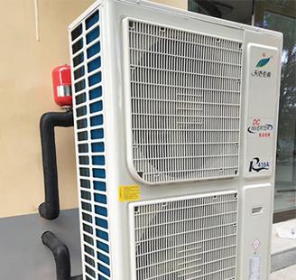 北京市顺义6匹变频配140平米地暖加空调
